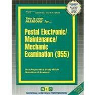 Postal Electronic/Maintenance/mechanic Examination by Rudman, Jack, 9780837341125