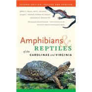 Amphibians & Reptiles of the Carolinas and Virginia by Beane, Jeffrey C., 9780807871126
