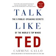Talk Like TED The 9 Public-speaking Secrets of the World's Top Minds by Gallo, Carmine, 9781250041128
