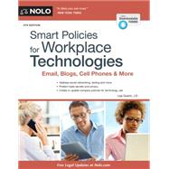 Smart Policies for Workplace Technologies: Email, Blogs, Cell Phones & More by Guerin, Lisa, 9781413321128