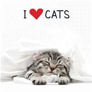 I Love Cats by Adams Media, 9781440581137