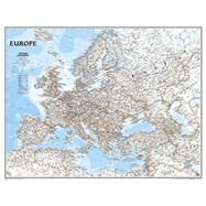Europe Classic by National Geographic Maps, 9780792281139