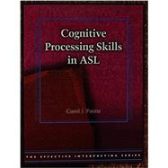 COGNITIVE PROCESS.SKILLS IN ASL-W/DVD by Unknown, 9781581211139
