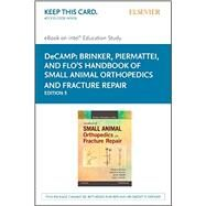 Brinker, Piermattei And Flo's Handbook Of Small Animal Orthopedics And Fracture Repair Intel Education Study Access Code