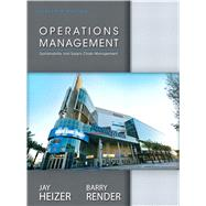 Operations Management by Heizer, Jay; Render, Barry, 9780132921145