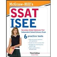McGraw-Hill's SSAT/ISEE, 3rd Edition by Falletta, Nicholas, 9780071781152