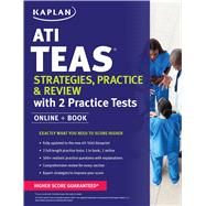 ATI TEAS Strategies, Practice & Review with 2 Practice Tests Online + Book by Unknown, 9781506211152