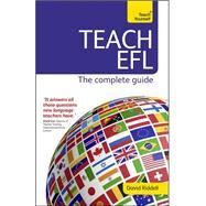 Teach English as a Foreign Language (New Edition) by Riddell, David, 9781473601154