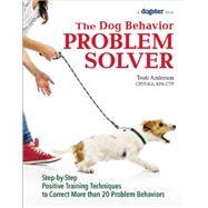 The Dog Behavior Problem Solver: Step-by-step Positive Training Techniques to Correct More Than 20 Problem Behaviors by Anderson, Teoti, 9781621871156
