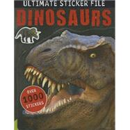Ultimate Sticker File Dinosaurs by Norris, Matt, 9781783931156