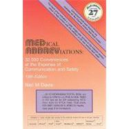 Medical Abbreviations:: 32,000 Conveniences at the Expense of Communication and Safety (Book with Access Code) by Davis, Neil M., 9780931431159