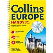 Collins Europe Handy Road Atlas by Collins Maps, 9780007581160
