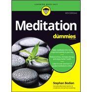 Meditation for Dummies by Bodian, Stephan; Ornish, Dean, M.D., 9781119251163