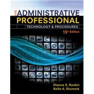 The Administrative Professional by Fulton-Calkins, Patsy; Rankin, Dianne; Shumack, Kellie A., 9781305581166