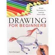 Drawing for Beginners Simple Techniques for Learning How to Draw by Sanmiguel, David, 9781454911166