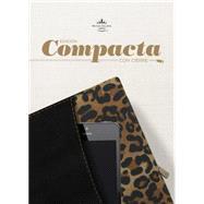RVR 1960 Biblia, Edición Compacta con Cierre, negro/leopardo símil piel by Unknown, 9781433691171