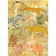Safari Scene Journal by Thunder Bay Press, 9781684121175