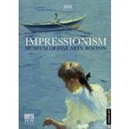 Impressionism; 2011 Engagement Calendar by Museum of Fine Arts, Boston, 9780789321176