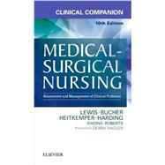 Clinical Companion to Medical-surgical Nursing: Assessment and Management of Clinical Problems by Lewis, Sharon L., 9780323371179