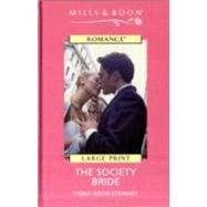 The Society Bride by Thomson Gale, 9780263181180