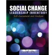 Social Change Leadership Inventory: Self-Assessment and Analysis by BRUNGARDT, CURTIS L, 9780757581182