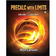 Precalculus with Limits, 4th by Larson, 9781337271189