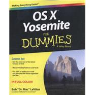 OS X Yosemite for Dummies by Levitus, Bob, 9781118991190