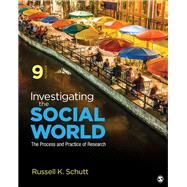 INVESTIGATING THE SOCIAL WORLD by Schutt, Russell K., 9781506361192