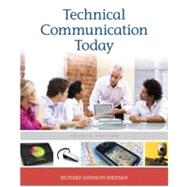 Technical Communication Today by Johnson-Sheehan, Richard, 9780205171194