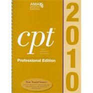 CPT Professional Edition 2010 by American Medical Association, AMA, 9781603591195