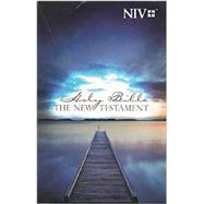 New Testament: New International Version, Outreach, Blue Pier by Biblica, 9781563201196