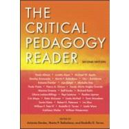 The Critical Pedagogy Reader: Second Edition by Darder; Antonia, 9780415961202