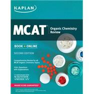 Kaplan Mcat Organic Chemistry Review by Macnow, Alexander Stone, M.D., 9781625231208