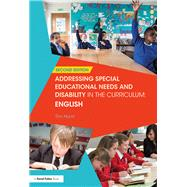 Addressing Special Educational Needs and Disability in the Curriculum: English by Hurst; Tim, 9781138691209
