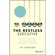 The Restless Executive by Simpson, Jo, 9781119071211