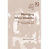 Managing Ethnic Diversity: Meanings and Practices from an International Perspective by Hasmath,Reza;Hasmath,Reza, 9781409411215