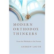 Modern Orthodox Thinkers by Louth, Andrew, 9780830851218