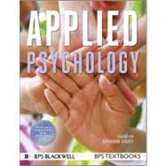 Applied Psychology by Graham Davey, 9781444331219