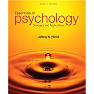 Essentials of Psychology Concepts and Applications by Nevid, Jeffrey S., 9781285751221