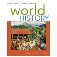 World History, Volume II: Since 1500 by Duiker, William J.; Spielvogel, Jackson J., 9781305091221