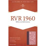 RVR 1960 Biblia con Referencias, borravino/rosado símil piel by Unknown, 9781433691232