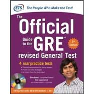 GRE The Official Guide to the Revised General Test with CD-ROM, Second Edition by Educational Testing Service, 9780071791236
