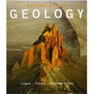 Essentials of Geology & Modified Mastering Geology with Pearson eText -- Access Card Package by Lutgens, Frederick K.; Tarbuck, Edward J.; Tasa, Dennis G., 9780133941241