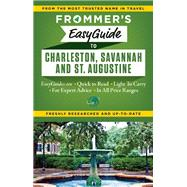 Frommer's EasyGuide to Charleston, Savannah and St. Augustine by Keeling, Stephen, 9781628871241