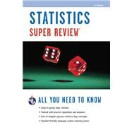 Statistics Super Review by Editors of Rea, 9780738611242