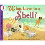 What Lives in a Shell? by Zoehfeld, Kathleen Weidner, 9780064451246