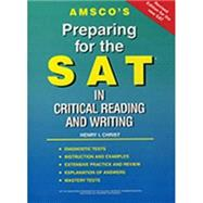 Preparing for the SAT: Reading and Writing by Christ, Henry I., 9781567651249