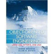 Object-Oriented Software Engineering Using UML, Patterns, and Java by Bruegge, Bernd; Dutoit, Allen H., 9780136061250