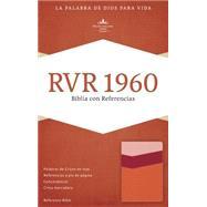 RVR 1960 Biblia con Referencias, mango/fresa/durazno claro símil piel by Unknown, 9781433691256