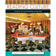 Reading Culture by George, Diana; Trimbur, John, 9780205211258